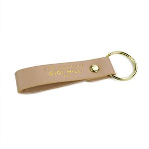 Picture of Gigi Hill Kylie Tan Faux Key Chain